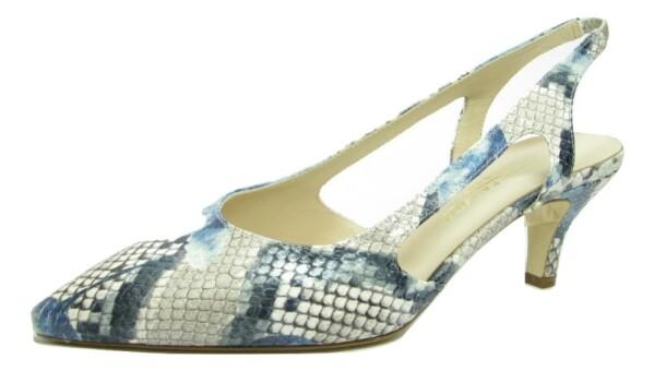 Moda di FaustoSling, beige bleu Pitone