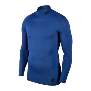NikeCompression Mock Blau