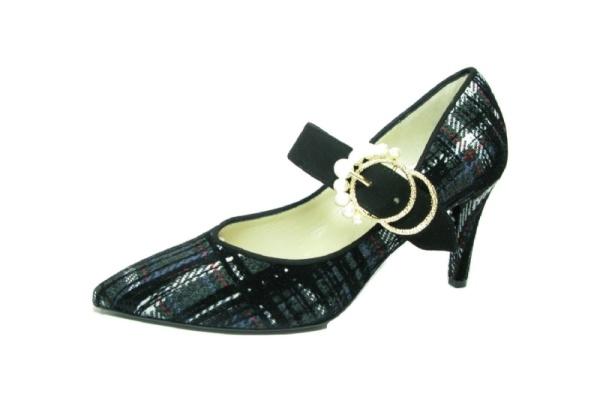 Moda di FaustoPumps, schwarz Multi