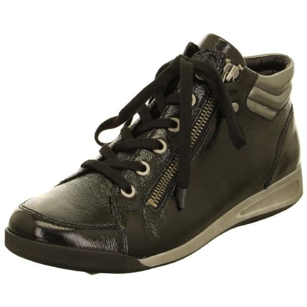 aramodischer Sneaker in Lackleder