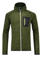 Ortovox Fleece melange Hdy green