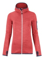 Ortovox Fleece melange Hdy hot coral