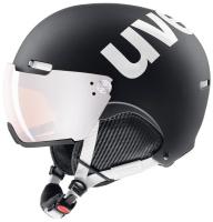 UvexHlmt 500 Visor black/white mat