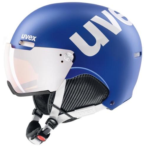 Uvex Hlmt 500 Visor cobalt/white