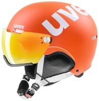 UvexHlmt 500 Visor orange mat