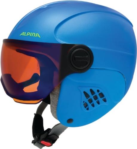 ALPINA Carat Le Visor HM blue-neon-y
