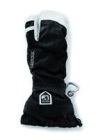 HestraArmy Leather Heli Ski 3 finger black
