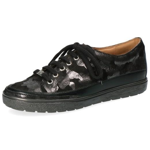 Caprice 9 23654 20 Schuhe Damen Halbschuhe Lack Schnürschuhe