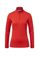 Kjus Women Feel Halfzip fiery red