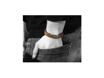 Leder-Armband