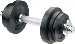 V3TecKurzhantel-Set ca. 10kg