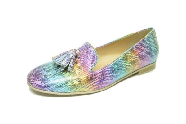 Moda di FaustoSlipper, Iris Metallic