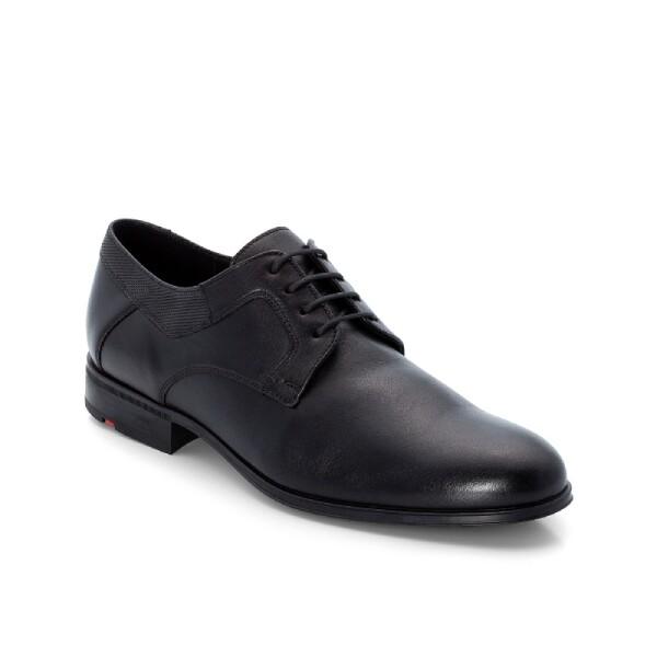 LloydSchnürer, schwarz Leder