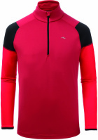 Kjus Race Half Zip currant red-scar