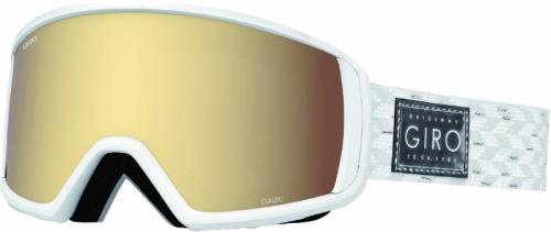 Giro Gaze white/silver shimmer/gold