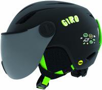 GiroBuzz Mips matte black/green
