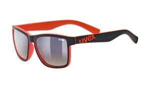 UvexLGL 39 black mat red