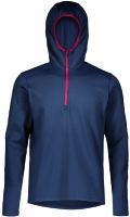 Scott Defined Pullover Mid blue