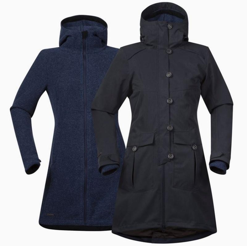 Bergans Bjerke 3in1 Lady Coat