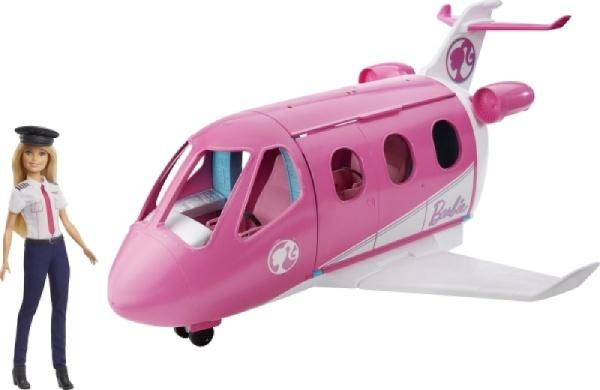 Reise Traumflugzeug mit Puppe