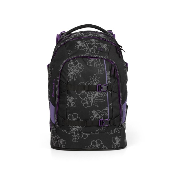 Satch by Ergobag Satch pack Ninja Hibiscus