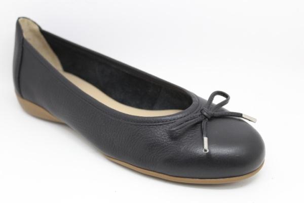 WirthBallerina, schwarz Leder