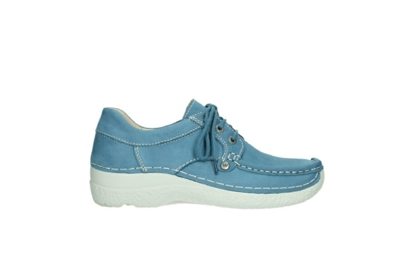Wolky Fly, suede blau