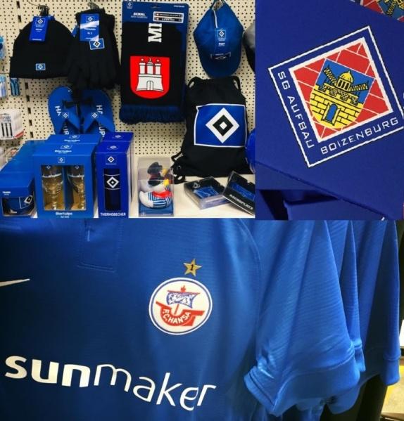 Hamburger SVHansa Rostock und SG Aufbau