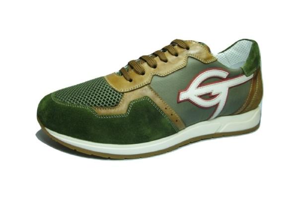 GALIZIO TORRESISneaker, grün kombi