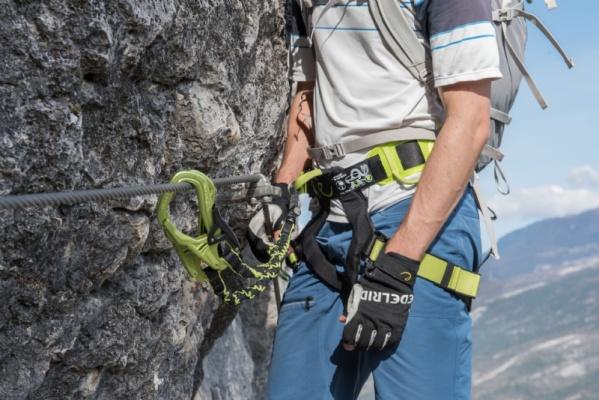 Klettersteig-Set und Zubehör