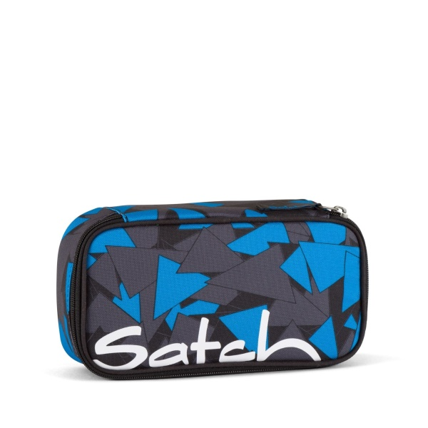 Satch by Ergobag Schlamperbox Blue-Triangle