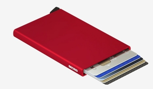 SecridC-red Kartenetui