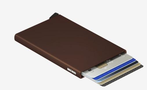 SecridC-brown Kartenetui