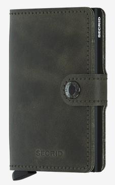 SecridVintage Olive-Black  Kartenetui