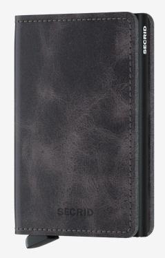 SecridVintage Grey-Black Kartenetui