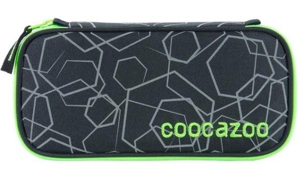 CoocazooFedermäppchen Laserreflect Solar-Green
