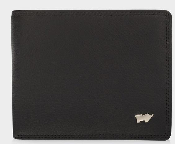 Braun BüffelGOLF 2.0 Geldbörse 8CS schwarz